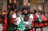 Folk costumes — Stock Photo