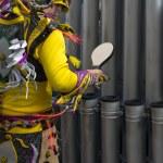Pipe musician — Stock Photo
