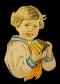 Vieille publicité vintage — Photo