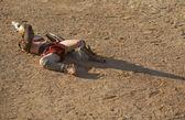 Gladiatore ferito — Foto Stock