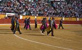 Ceremonial entry — Zdjęcie stockowe