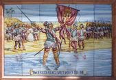 Nunez de Valboa conqueror — Stock Photo