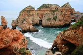 Ponta da Piedade on winter — Stock Photo