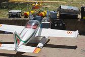 RC Hydroplane on ground — Foto de Stock