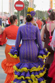 Seville women in colors — Photo