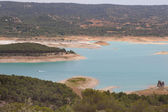 La Alcarria reservoirs landscape — Stock Photo