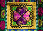 Andean patterns — Stock Photo