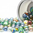 Wonderful glass balls — Stock Photo