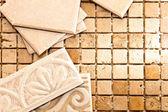 Work with ceramics — Stock Photo