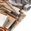 A set of non-ferrous metals — Stock Photo