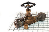Emergency plumbing repairs — Stock Photo
