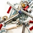 Stock Photo: Metal and plastic for the home
