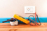 Wiring in the room — Stock Photo