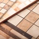 A set of ceramic tiles — Stock Photo