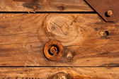 Wooden boards under the influence of atmospheric effects — Stock Photo