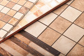 A set of ceramic tiles — Stock Photo