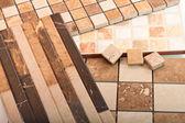 Installing the tiles — Stock Photo