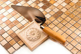 Tile work of high quality — Stock Photo