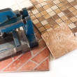Ceramic tiles for tiling — Stock Photo