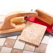 Tiling — Stock Photo