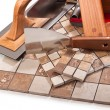 Decorative tiles for kitchen and bathroom — Stock Photo #45845125