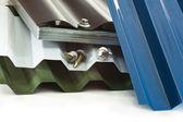 Heavy-duty coating for roof — Stock Photo