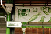 Borough market in London — Stock Photo