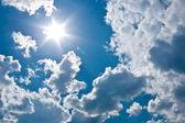 Coming of sun — Stock Photo