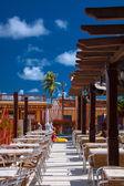 Restaurant in Baracoa, Cuba — Stock Photo