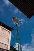 Generator propeller at coffee farm in Guatemala — Stock Photo