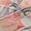 GBP bank notes — Stock Photo
