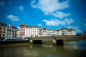 Scenic view of Bayonne in France — Stock Photo