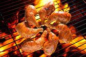 烤的鸡 — 图库照片