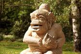 Stone figure Japanese garden — Stock Photo