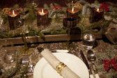 Christmas festively tiled — Stock Photo