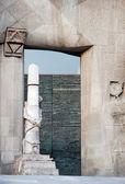 Gaudi church — Stock Photo