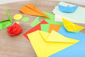 Tinker with paper — Stock Photo