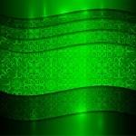 Vector green metallic Textured background — Stock Vector