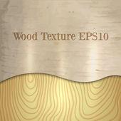 Vector light wood birch texture — Stok Vektör