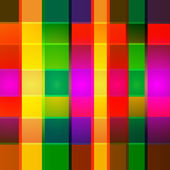 Vector abstract geometric multicolor background — Stock Vector