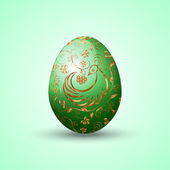 Vector illustration of painted Eastern egg — Wektor stockowy