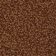 Vector abstract background made from coffee beans — Stock Vector