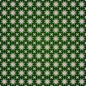 вектор абстрактный цветок бесшовные модели с этническим орнаментом — Cтоковый вектор