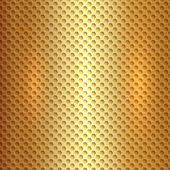 Vector abstract square metal gold hexagon cell grid — Stock Vector
