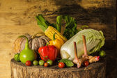 Still life Vegetables and fruits. — Stockfoto