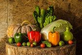 Still life Vegetables and fruits. — Stockfoto