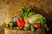 Still life Vegetables and fruits. — Stok fotoğraf