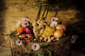 Still Life Photography with Spices and herbs. — ストック写真