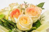Beautiful bouquet  flowers — Stock Photo