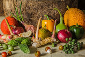Still life Vegetables and fruits. — Stock Photo